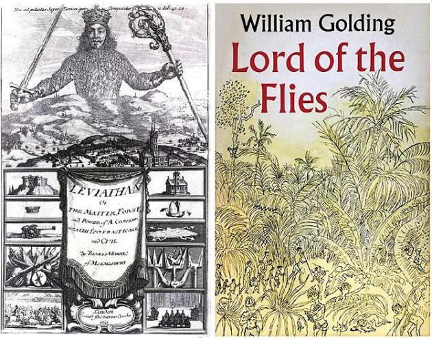 the ideas of hobbes and augustine in the lord of flies by william golding An exploration of the context, meaning, and intention of the book, lord of the flies.